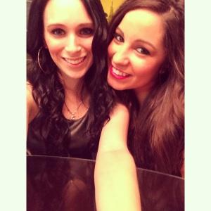 Mel and I